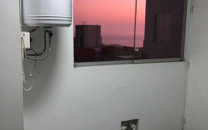 Lindo departamento sin muebles con linda vista al mar