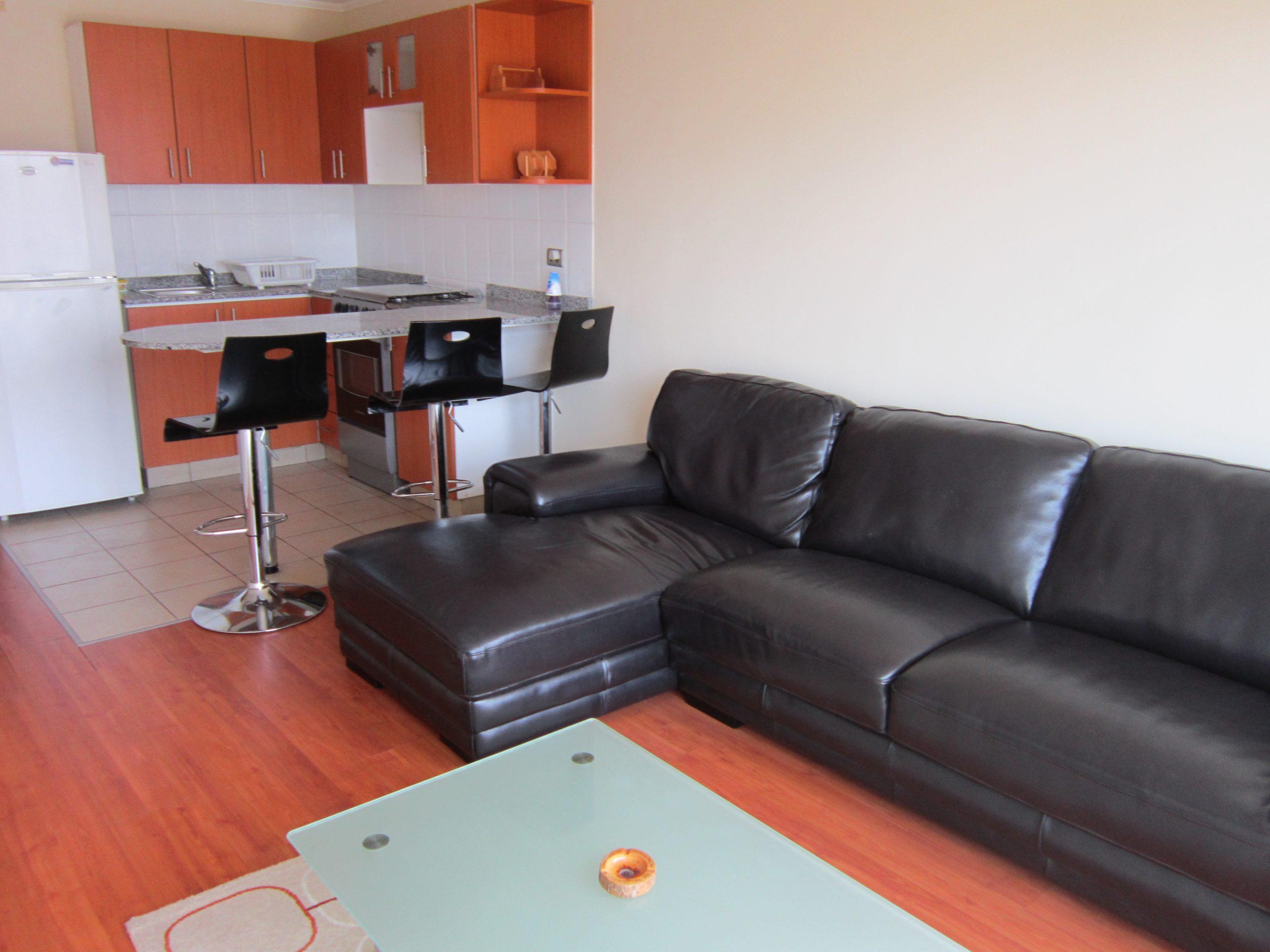Departamento de 1 dorm con muebles en zona centrica de Miraflores