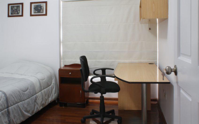 Departamento de 3 dorm amoblado con vista al mar